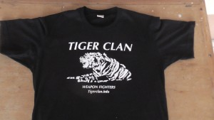 TIGER CLAN T Shirt Front