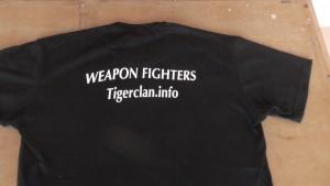 TIGER CLAN T Shirt Back